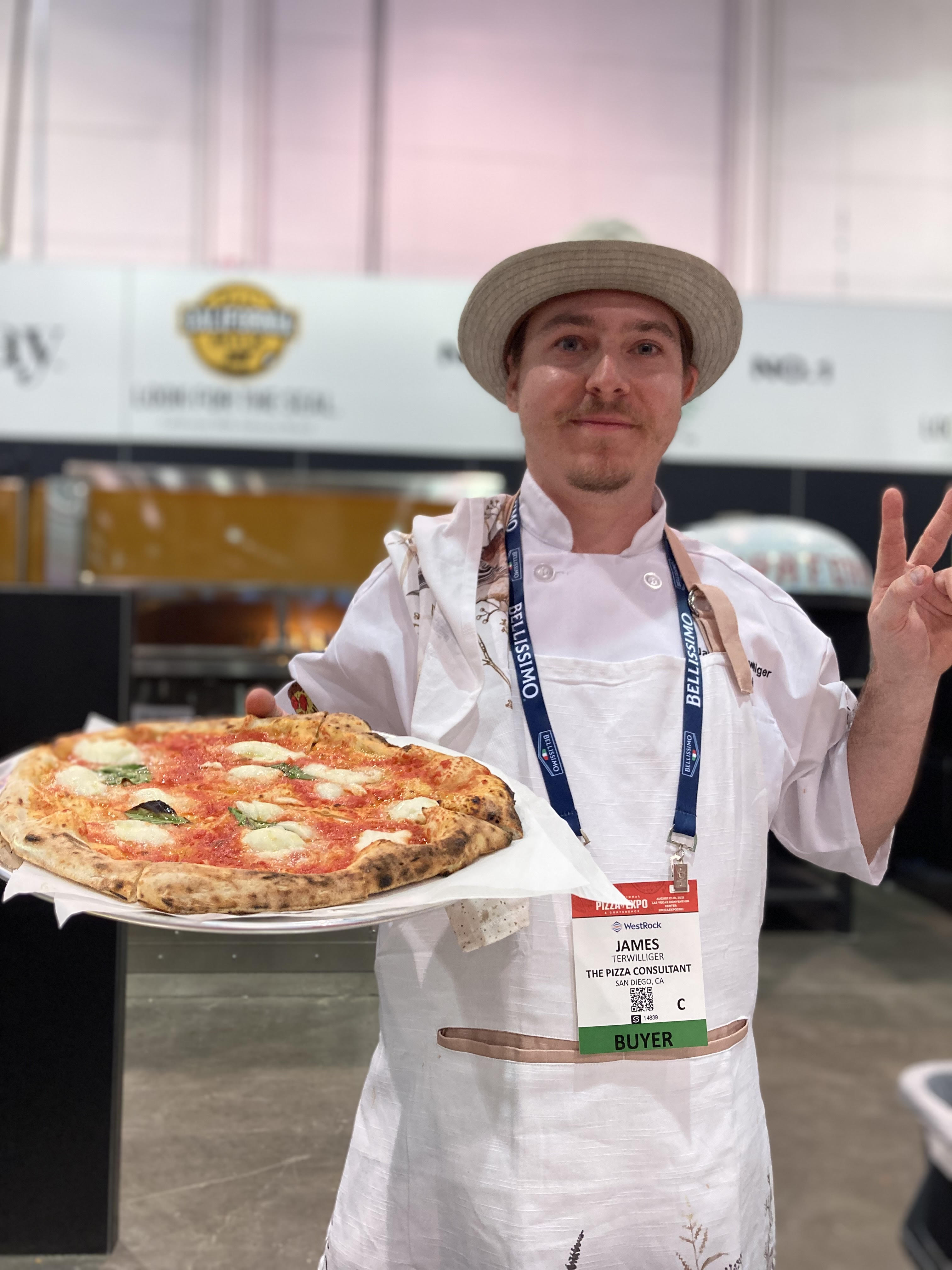 James Terwilliger, The Pizza Cinsultant, San Diego, CA. 1